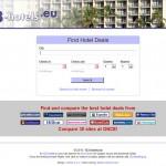 Postavitev spletne strani 123-hotels.eu