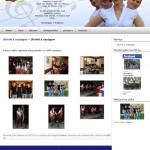 Oblikovanje in izdelava spletnih strani ansambel-ponocnjaki.com