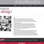 Postavitev CMS spletne strani mayadesign.nl