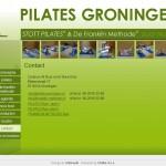 Izdelava spletnih strani pilatesgroningen.nl