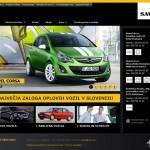 Vzdrževanje spletnih strani Opel