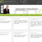 Oblikovanje in postavitev CMS spletnih strani semafor.si
