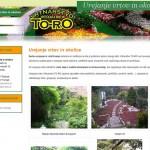 Wordpress spletna stran vrt-in-okolica.si