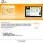 Oblikovanje in izdelava spletne strani utabla.si