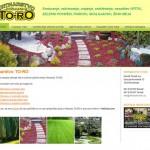 Izdelava in oblikovanje spletne strani Vrtnarstva TO-RO
