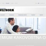 Izdelava CMS spletnih strani weltnorm.si, weltnorm.ba, weltnorm.com, weltnorm.rs