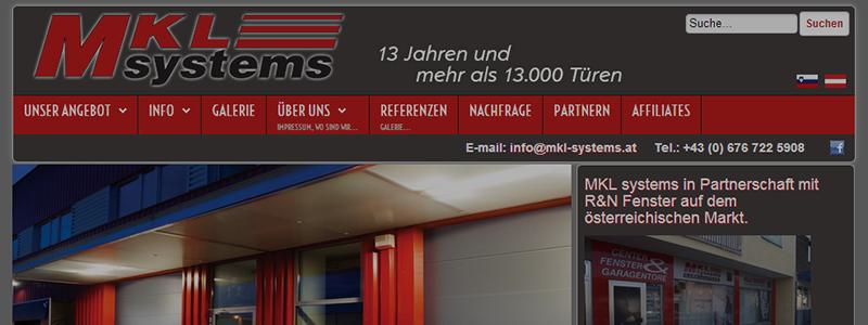 Garagen Sektionaltore MKL Systems Garagen Sektionaltore MKL Systems